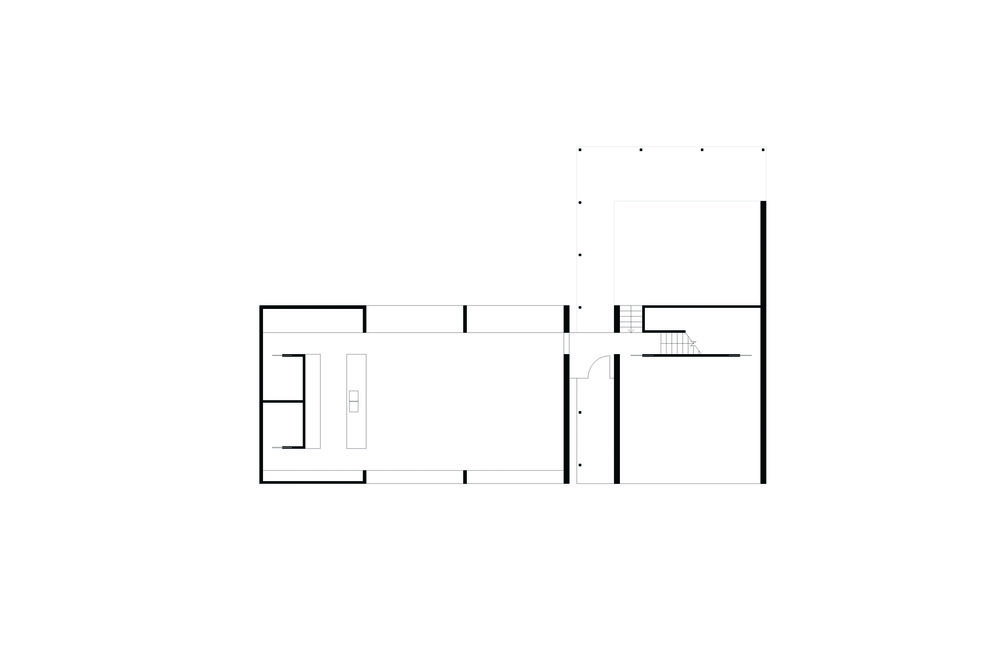 Dolphin Point House | Ground Floor Plan