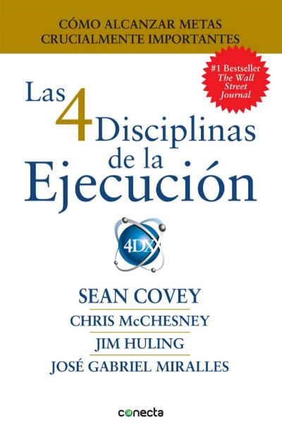 Portada libro 4 Disciplinas de la Ejecución