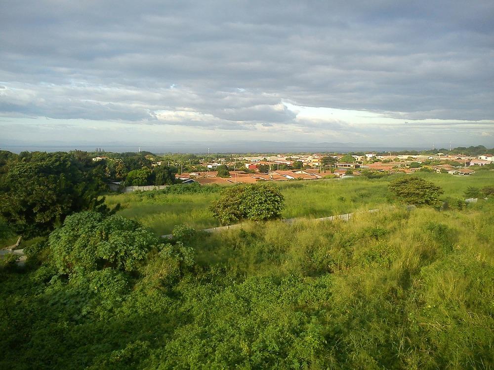 Overlooking Managua, Nicaragua