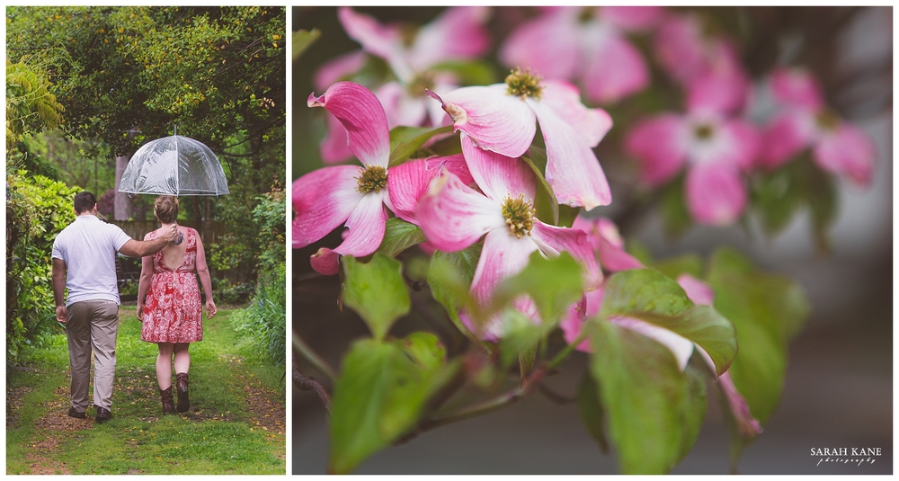 Secret Garden Engagement | Sarah Kane Photography