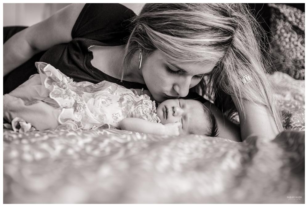 newborn with mother | Sarah Kane Photography