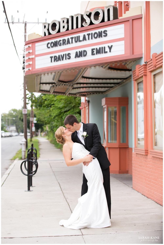 Richmond Wedding Photographer | Sarah Kane Photography | Robinson Theater