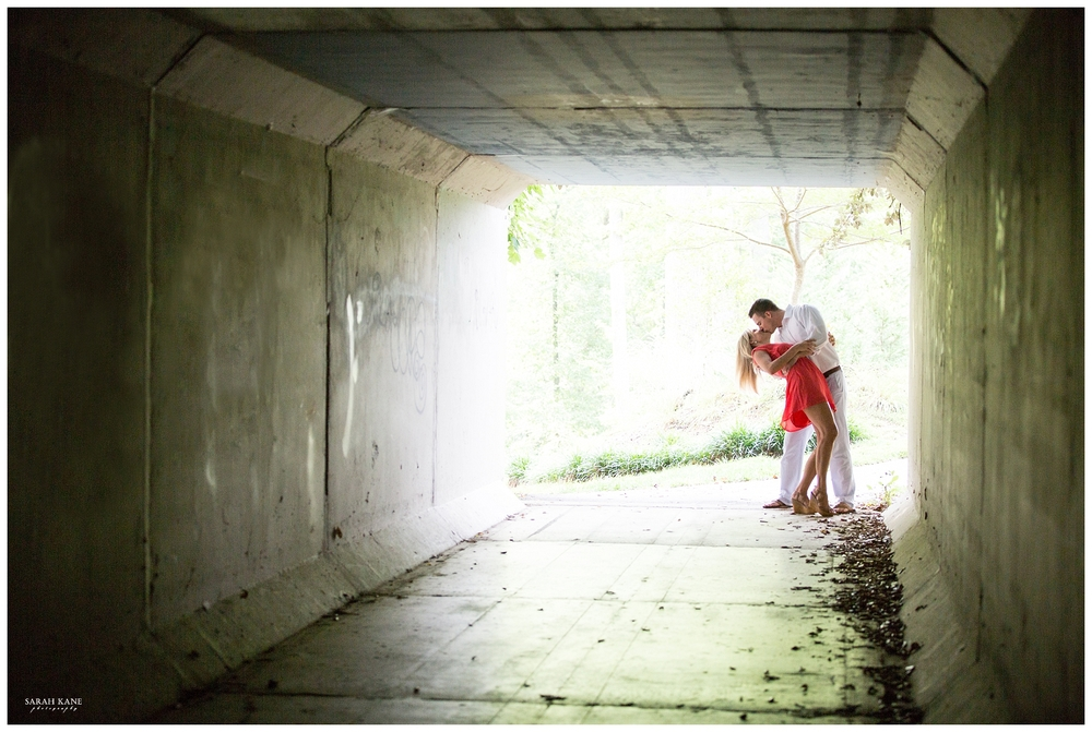 Engagement at Midlothian Mines Park | Sarah Kane Photography