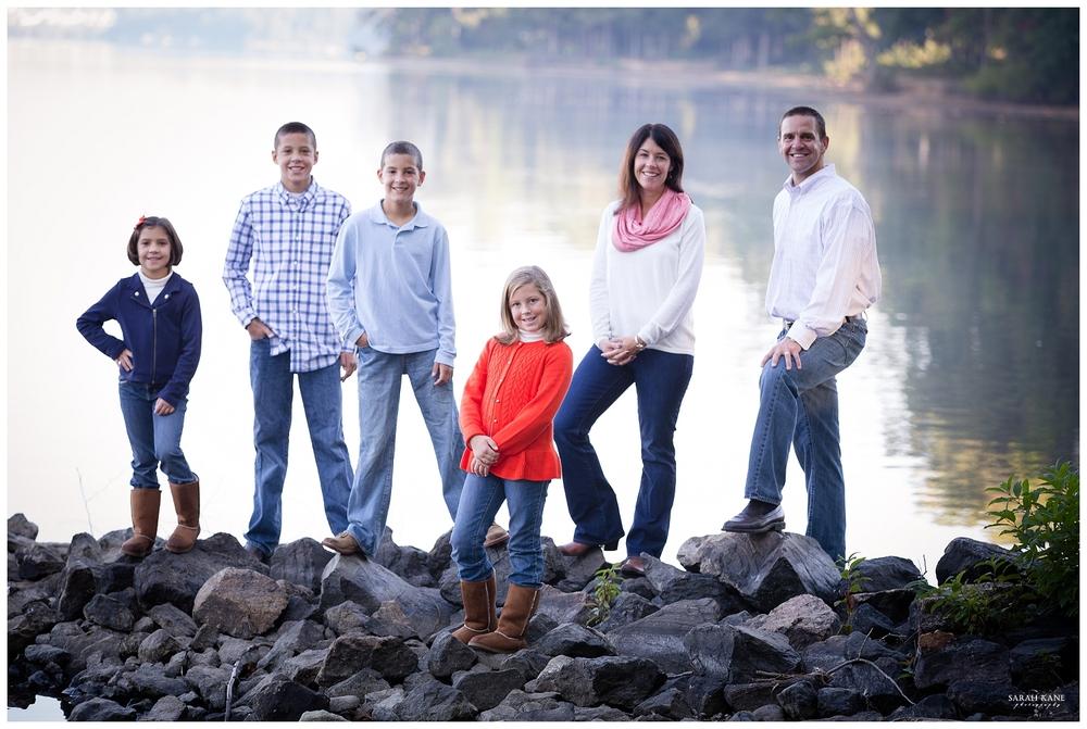 Family Portraits | Sunday Park in Brandermil Midlothian VA | Sarah Kane Photography