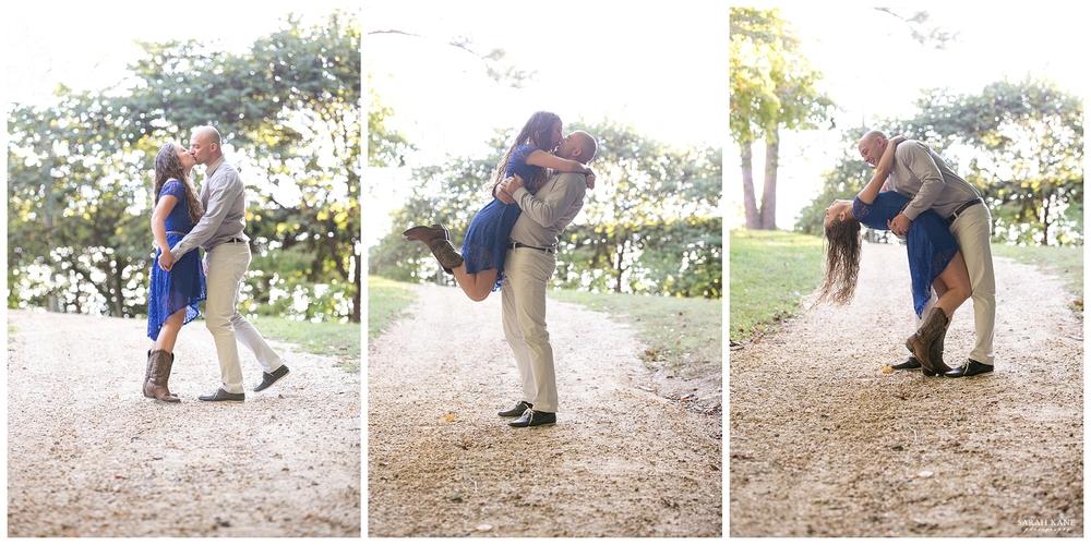 Engagement at University of Richmond | Sarah Kane Photography