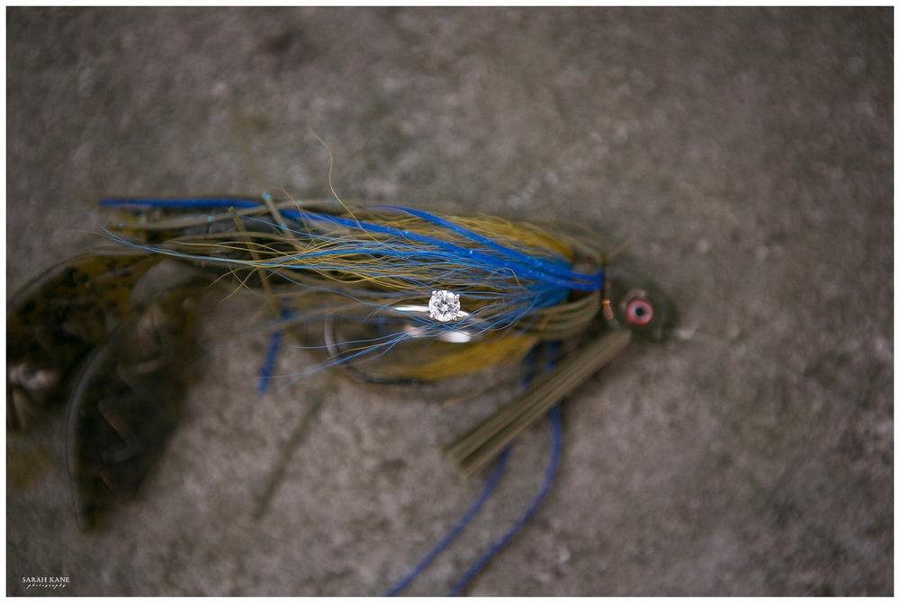 Fishing engagement | Sarah Kane Photography