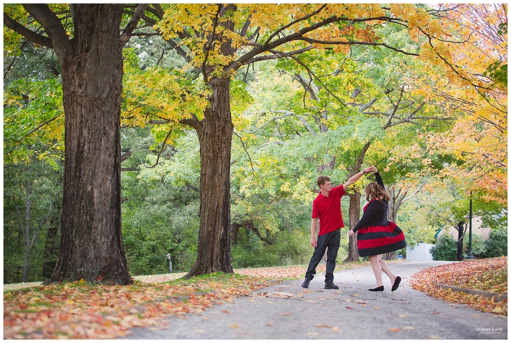 Engagement at Forest Hill Park RVA | Sarah Kane Photography