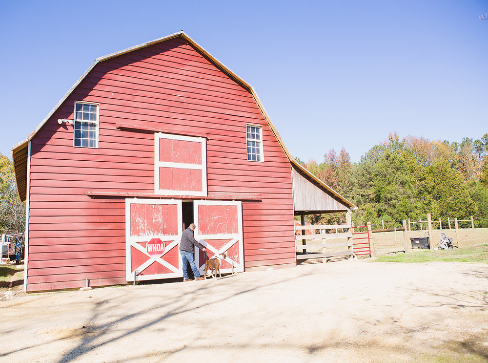 red barn | Sarah Kane Photography