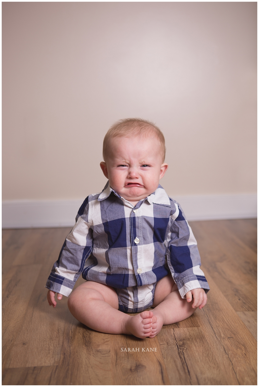 Crying baby | Sarah Kane Photography