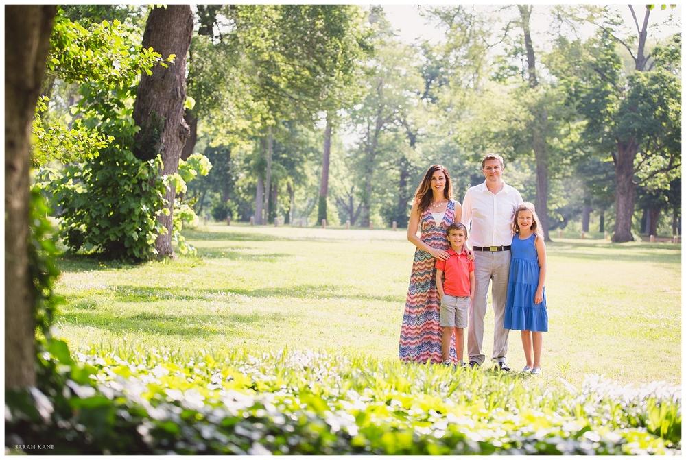 family portraits at The Carillon at Bryd Park | Sarah Kane Photography