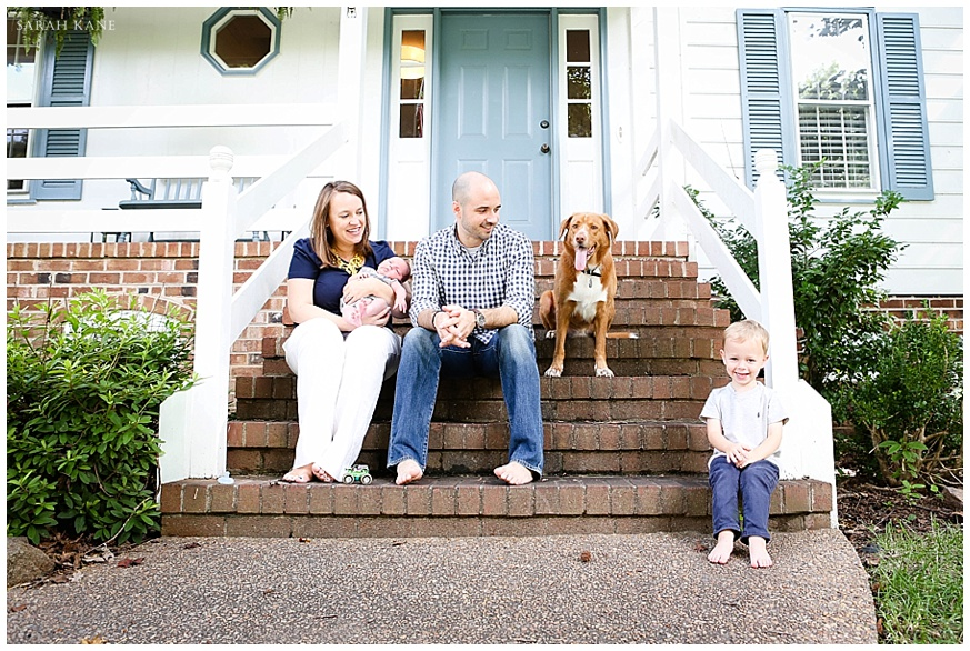 Family portraits in Richmond VA | Sarah Kane Photography