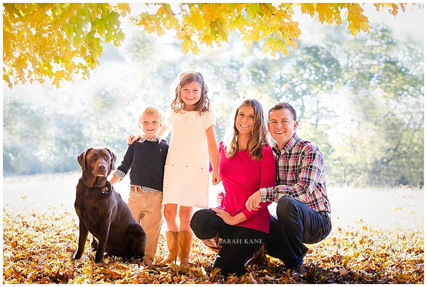 Fall family portraits in RVA www.sarahkanephotography.com