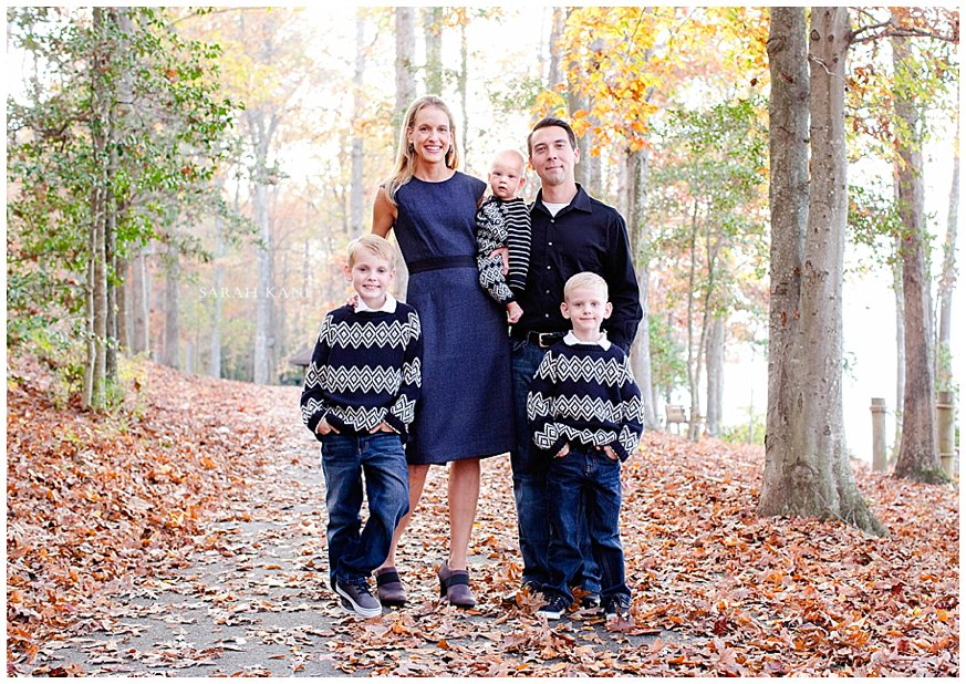 Fall Family Portraits www.sarahkanephotography.com