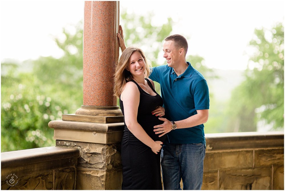 maternity images at Maymont Park in RVA www.sarahkanephotography.com