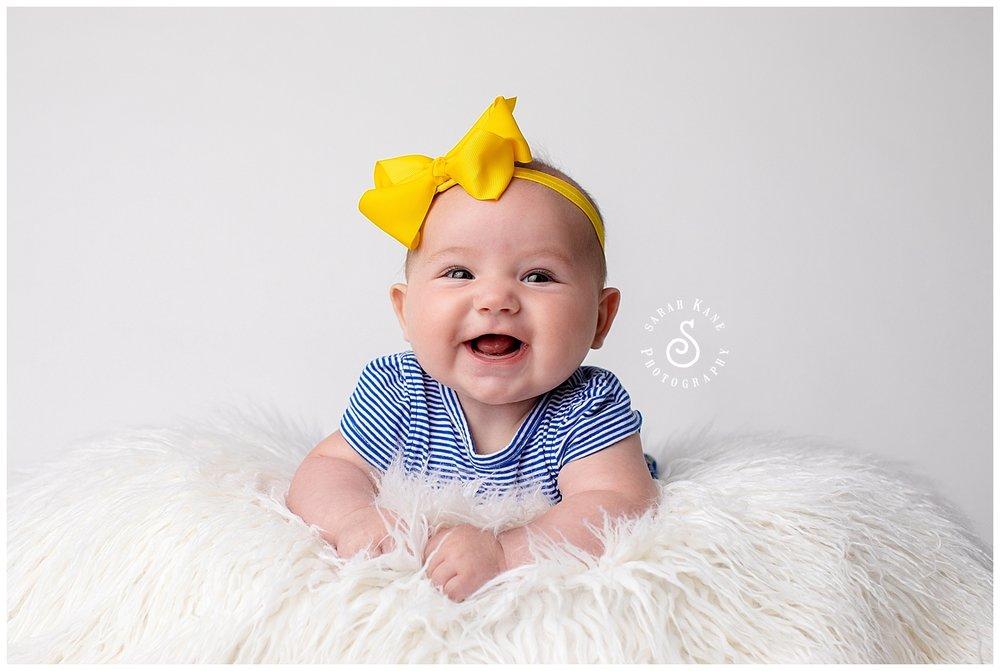 baby portraits in Richmond VA www.sarahkanephotography.com