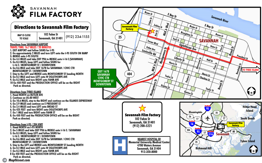 About Savannah Film Factory