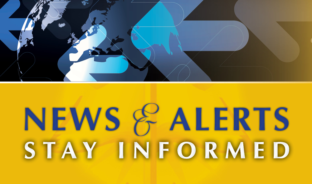 Stay abreast of any important news or important updates within the ministry.