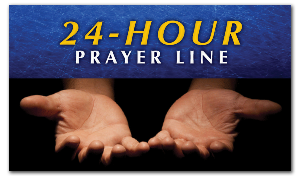 24/7/365 Our Live Prayer Partners are there to pray with you at any time!
