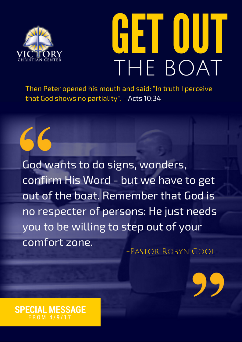 Get Out the Boat!