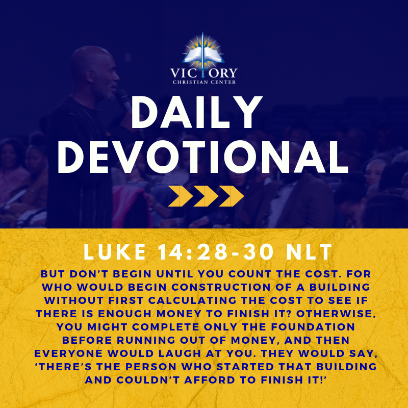 Daily Devotional — Victory Christian Center