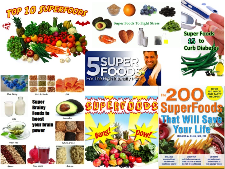 "Many people believe that ""super foods"" can remedy a number of ailments although scientific evidence has yet to support these notions."