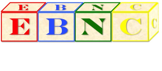 Energy Balance Nutrition Consulting (EBNC) Logo: The Building Blocks of Your Nutrition and Health