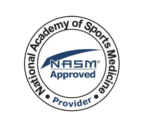 NASM Logo Approved Continuing Education Provider