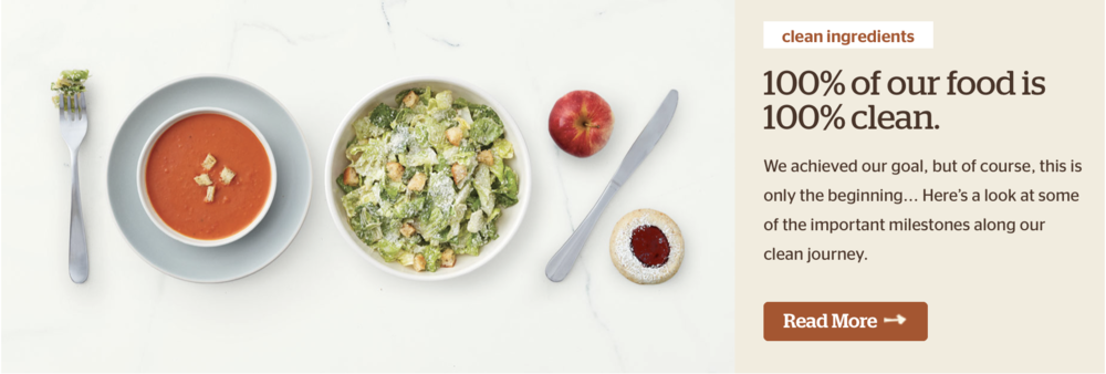 Panera Bread: Clean Eating