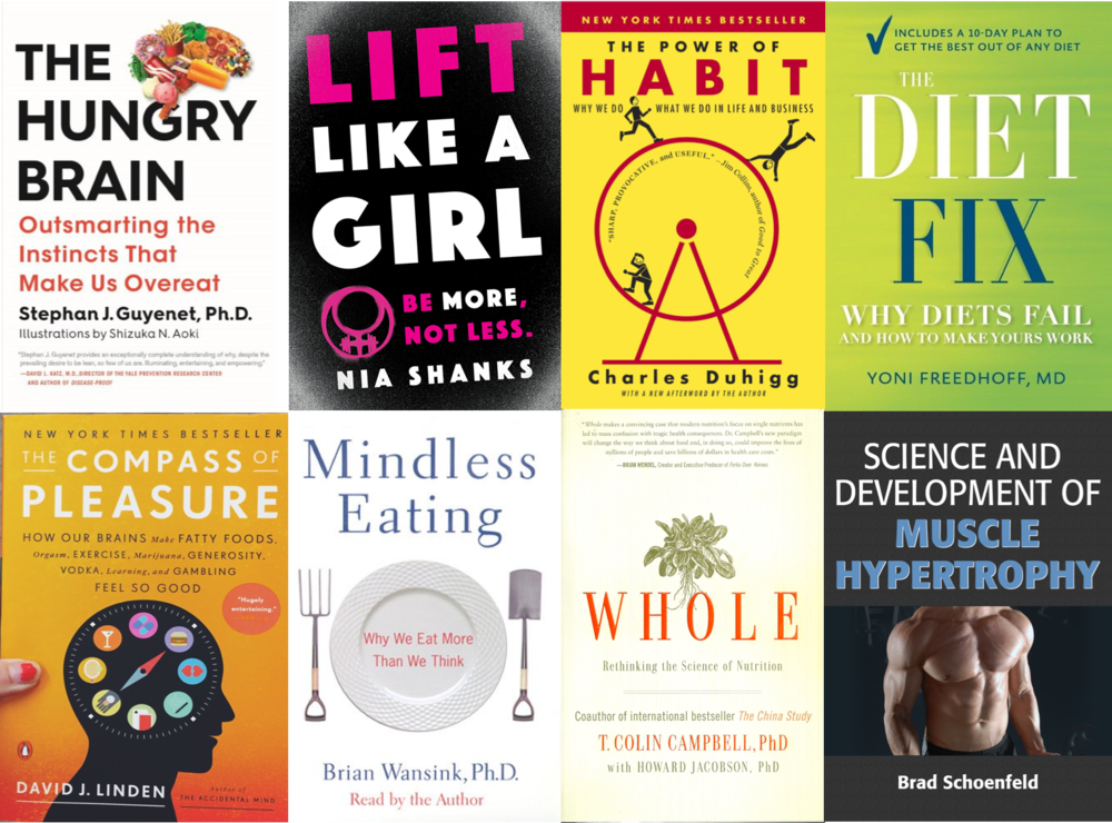 Diet/Health & Wellness Books Worth Reading: Some of My Favorites.