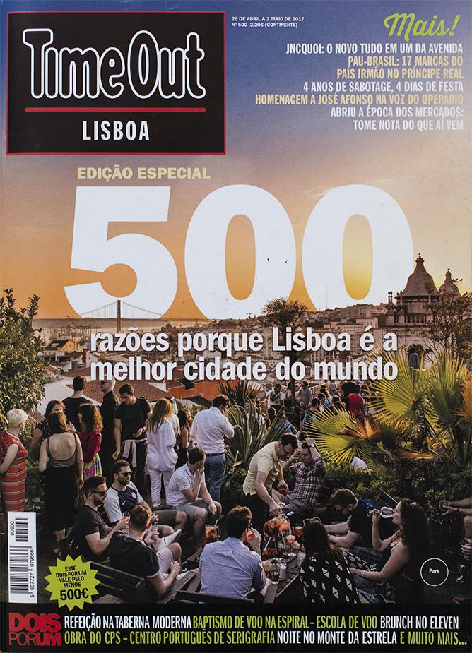 TimeOut Lisboa - Adam Moco  / Miss Moço