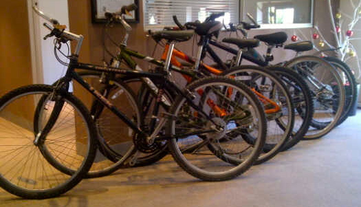 1st bikes for Cape Argus camp riders