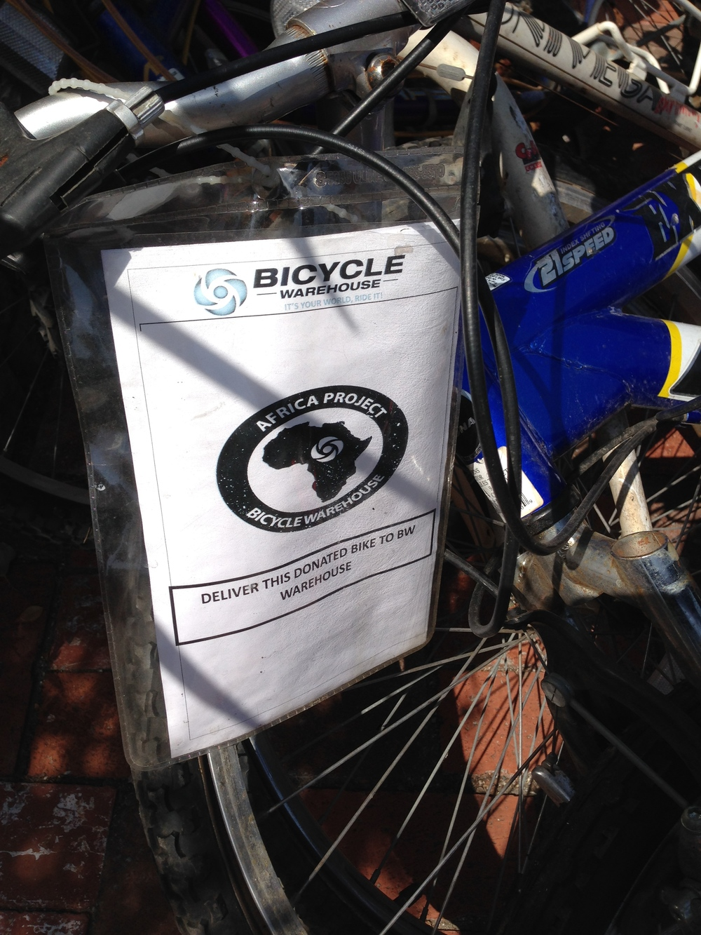 All Bicycle Warehouse stores are now San Diego drop off points for bike donations.