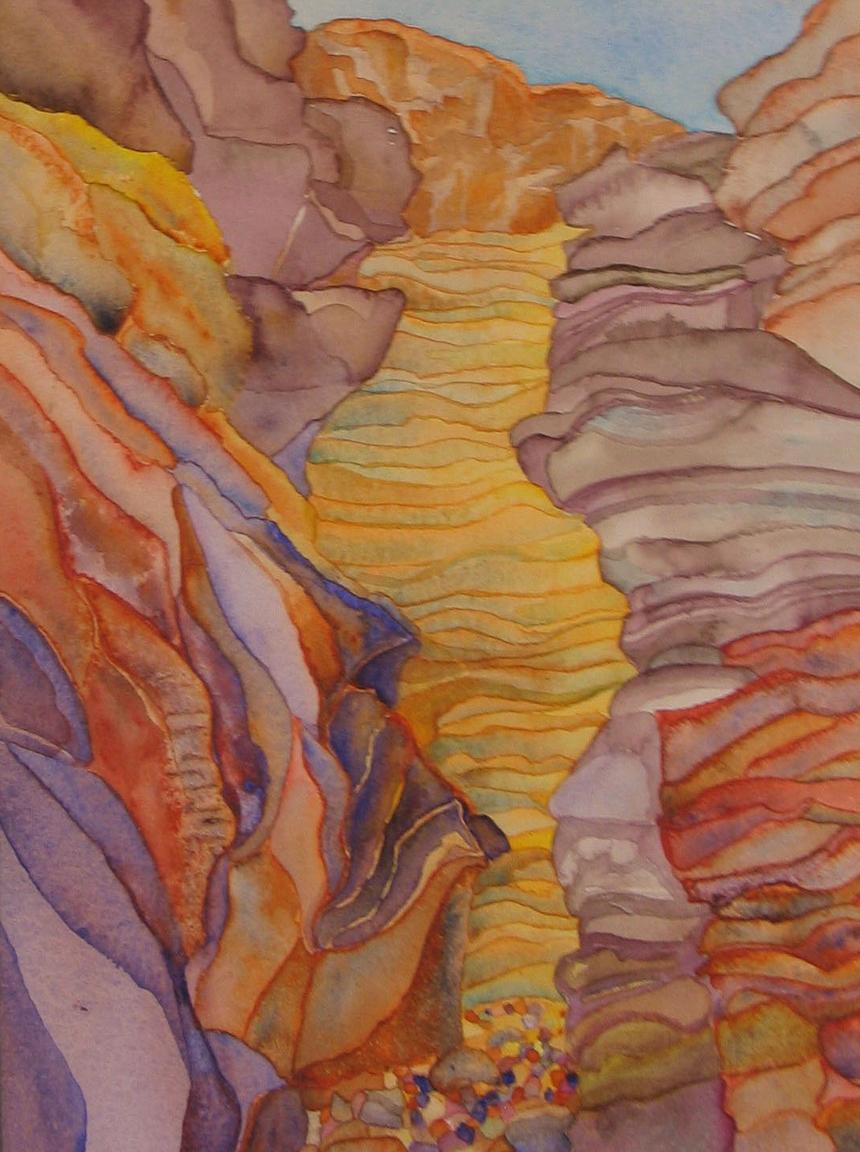 Blacktail Canyon Sunlight