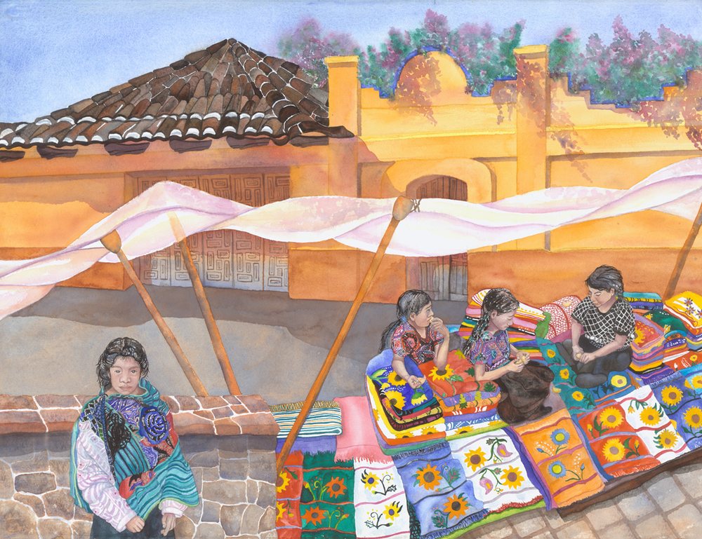 Young Weavers of Oaxaca