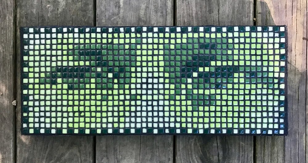 Mosaic of eyes