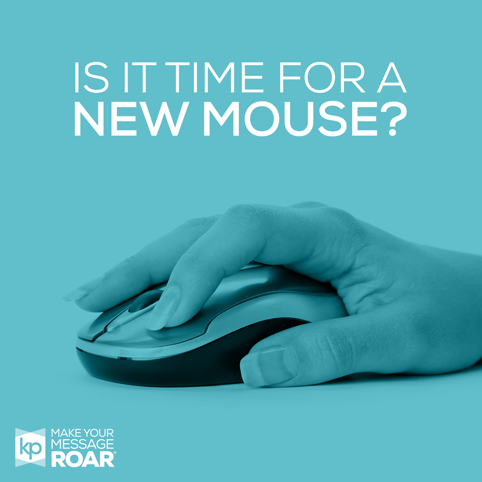 Image of a hand using a mouse