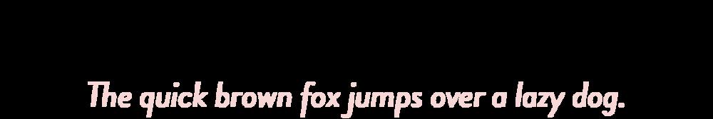 Brandon Grotesque: The quick brown fox jumps over a lazy dog.