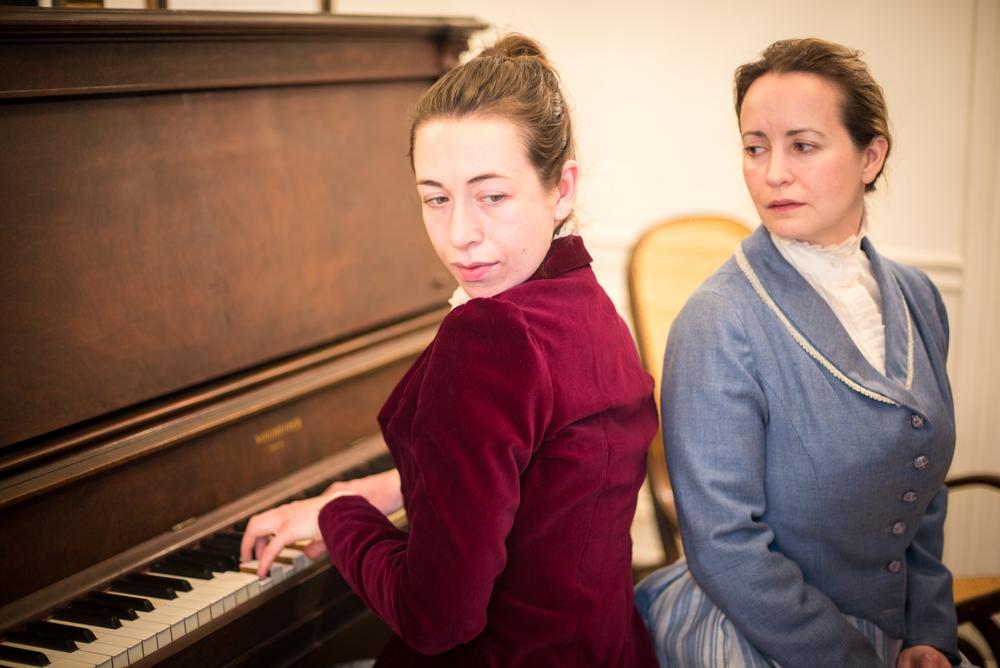 Mrs. Daldry (Sarah Finn) &Annie (Michelle LeBlanc)  Photography by A. Alexander
