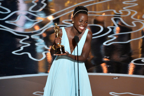 Lupita Nyong'o--Best Actress in a Supporting Role
