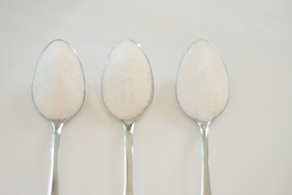 Everything is better with sugar! Sugar is a gentle, non-drying exfoliator