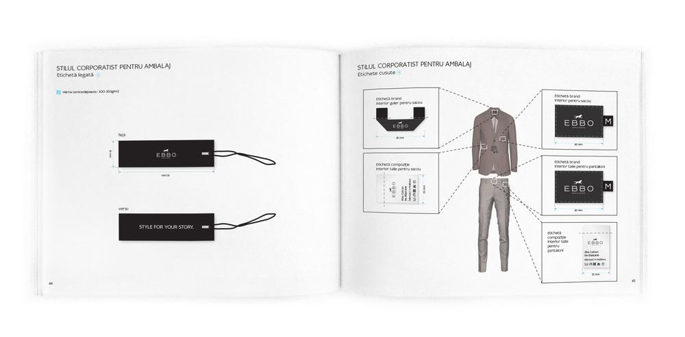 Brandbook – Labels Construction