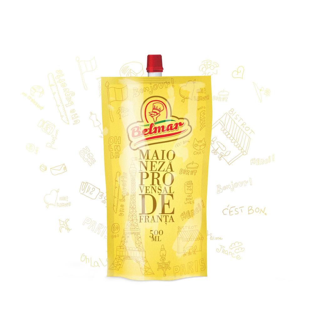 Mayonnaise Provensal de Franta