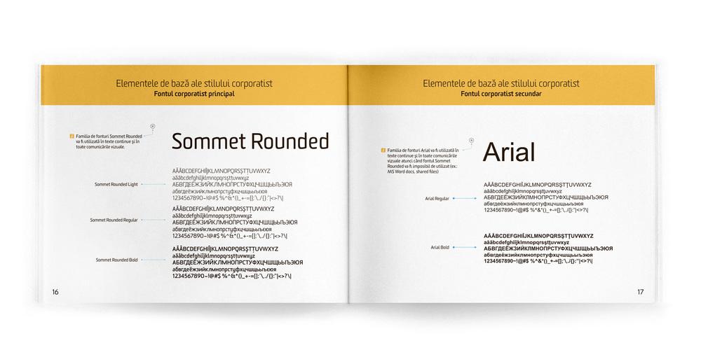 Brandbook – Main and Secondary Fonts