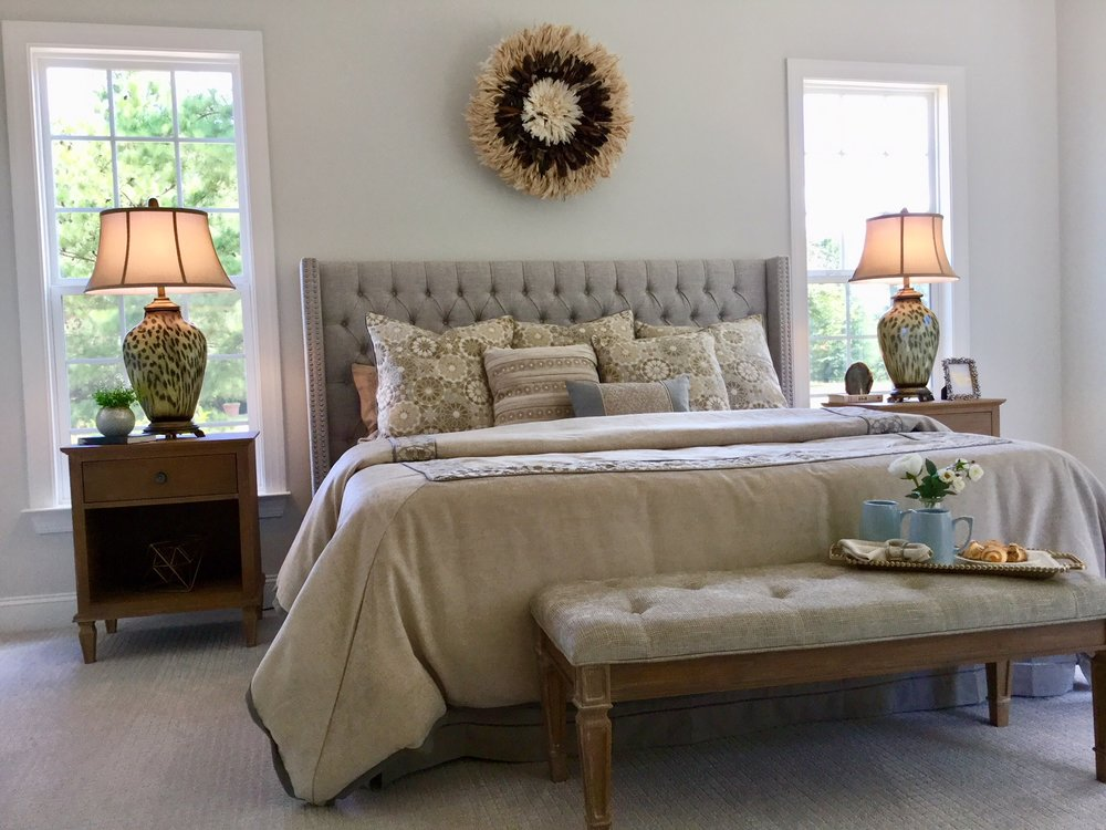 Charlotte, NC designer shows how to stage bedrooms