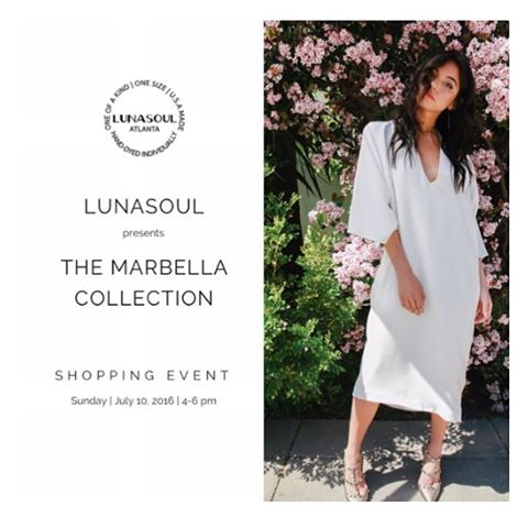 Join us for a shopping event and preview of the @shoplunasoul 2017 Resort collection this Sunday July 10th 4-6pm. RSVP to shoplunasoul@gmail.com for location details. #Lunasoul #brandswelove #MadeUSA