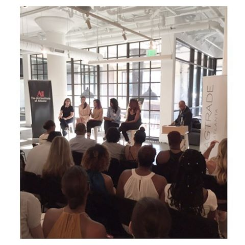 Full house tonight at the Fashion PR & Marketing panel discussion @_gaatlanta  #FashioninAtlanta #ragtradeatlanta #generalassemblyatlanta #FactoryGirlsATL