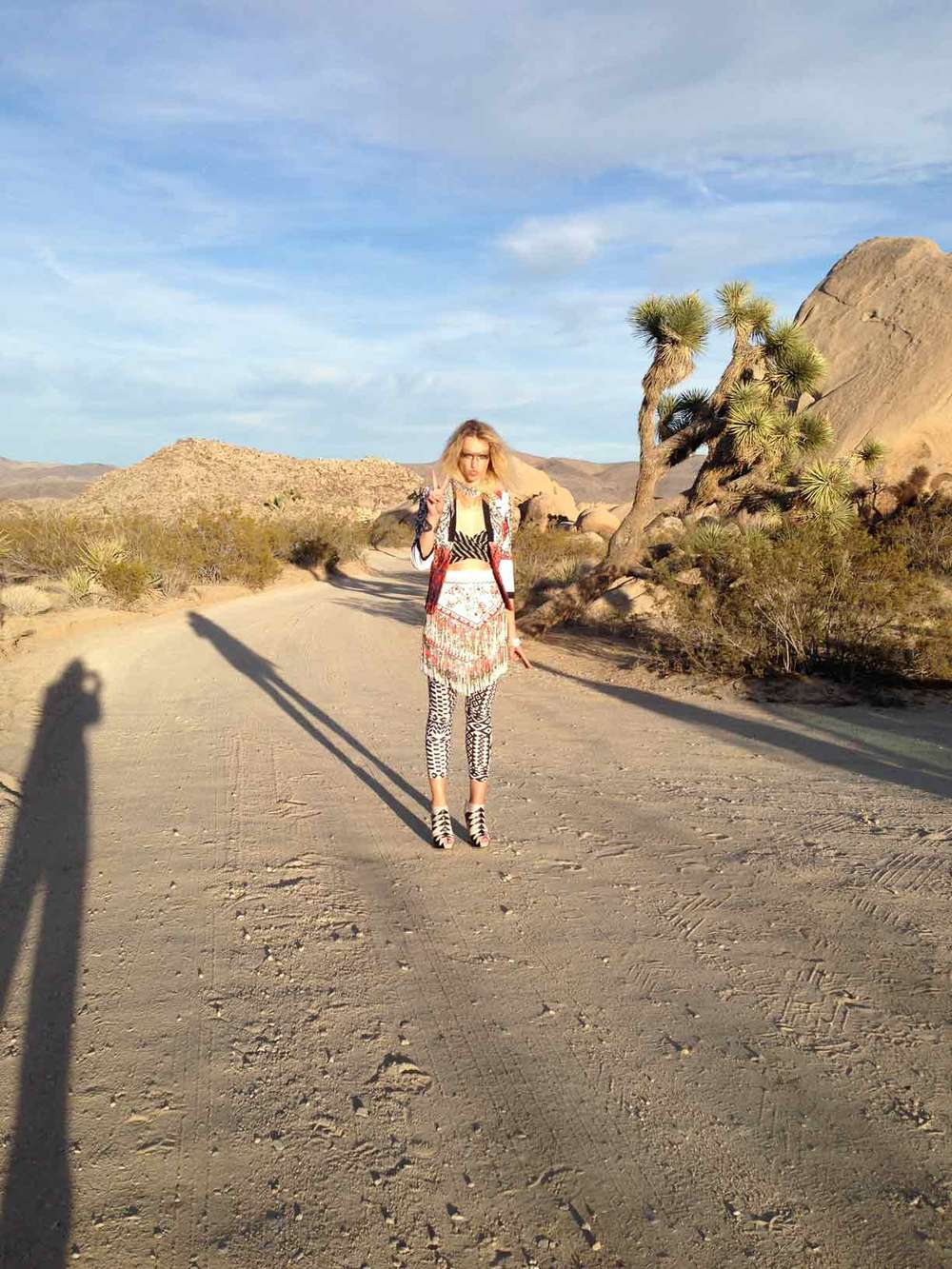 Masha from Photogenics in this crazy beautiful place called Joshua Tree