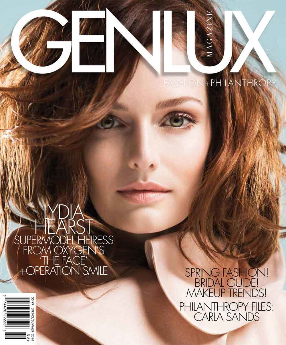 VERSION A: Here is our signature Genlux cover. Tight to the face. Graphically strong.