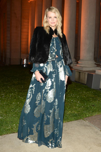Kelly Sawyer arrives at the Salvatore Ferragamo 2014 Mid-Winter gala to benefit the Fine Arts Museums, San Francisco