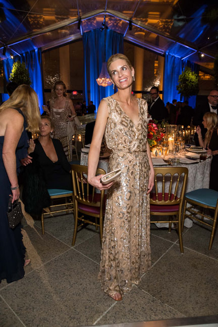 Vandy Boudreau at the Salvatore Ferragamo 2014 Mid-Winter gala to benefit the Fine Arts Museums, San Francisco wearing Salvatore Ferragamo